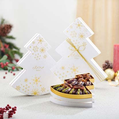 order White Winter Tree gift box online