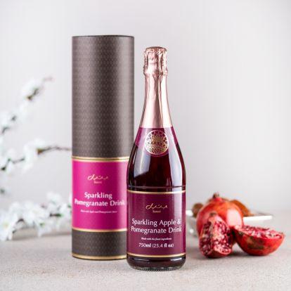 Sparkling Apple & Pomegranate Juice by bateel
