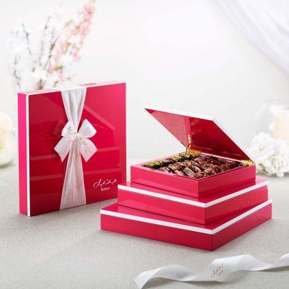 Pink Wood Gift Box