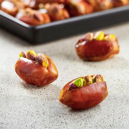 Dattes Kholas à la pistache salée