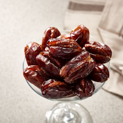 Khidri dates with caramalised pecan for VIPs