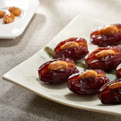 Khidri dates with caramalised almond for sale online