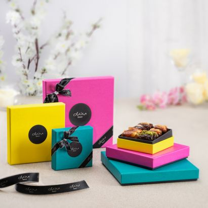 vibrant spring gift box for sale