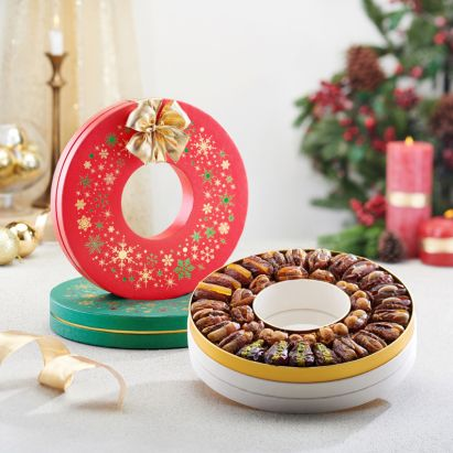 buy winter garland Christmas gift box