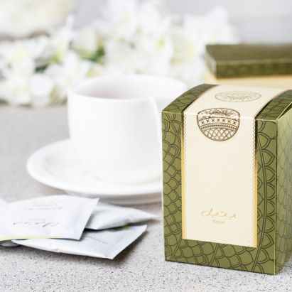 Bateel assorted green tea box for sale online
