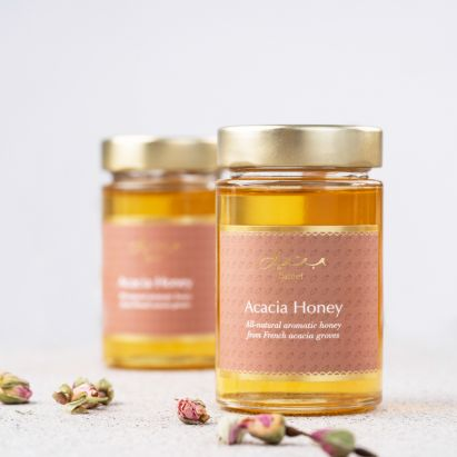 light honey from acacia by bateel