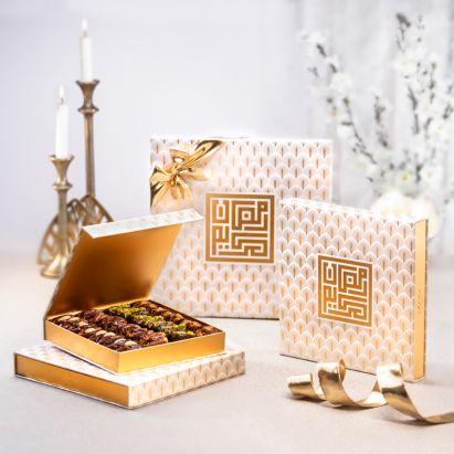 order Ramadan Kareem Golden Palms gift box online
