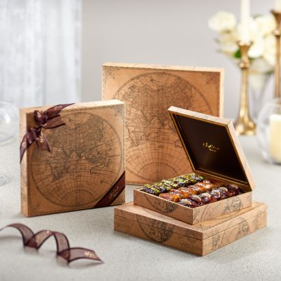 Handmade World Map Gift Box