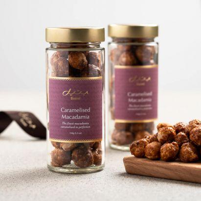 Caramelised Macadamia