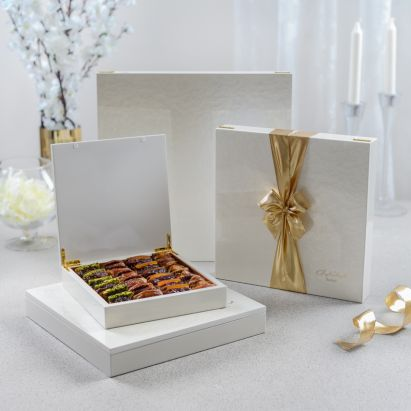 buy wooden Ivory White Gift Box