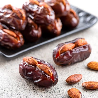 Khidri Dates with Smoked Almonds