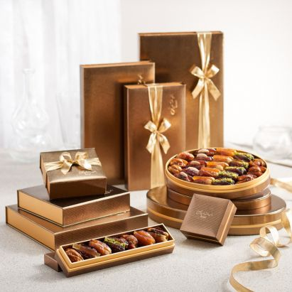 buy premium Midas gift box with dates