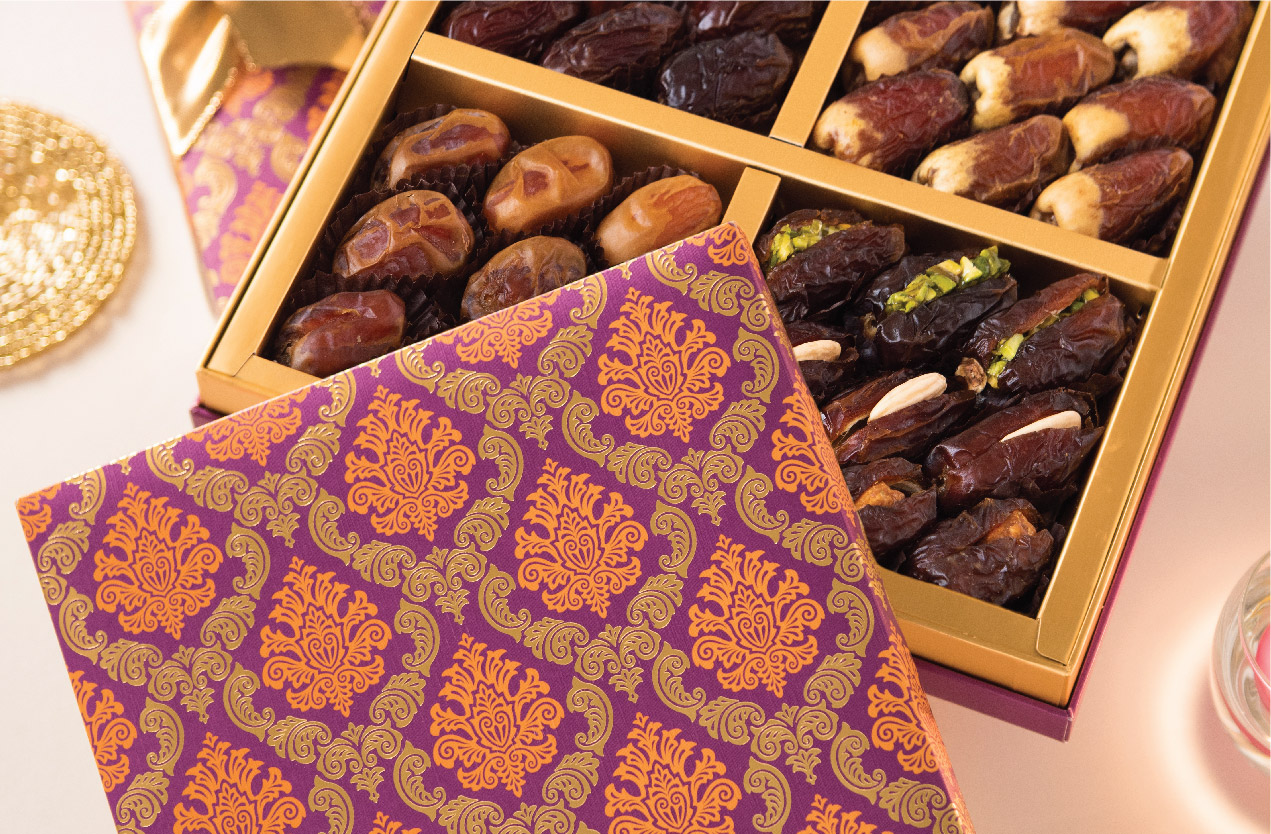 Delectable gourmet dates