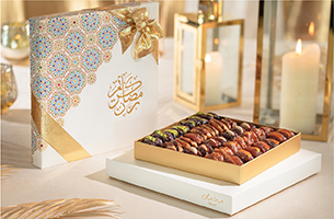 Elegant arabesque motifs