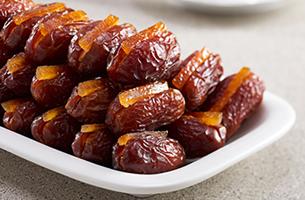 Organic gourmet dates