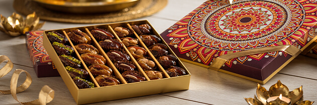 Delectable gourmet dates handpicked for you