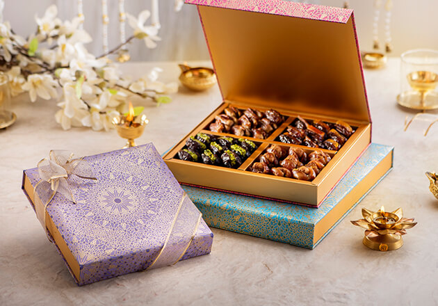 Celebrate the Festival of Lights with an exquisite Diwali gift set