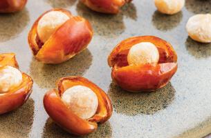 Enjoy premium gourmet filled dates