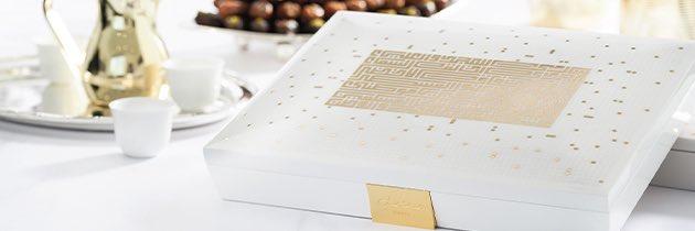Emballage cadeau en bois luxueux parfait pour offrir