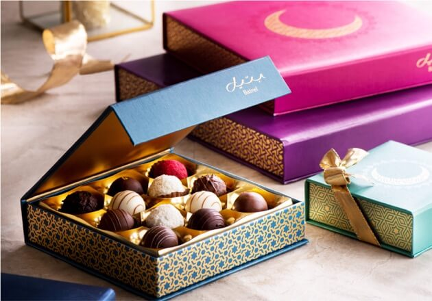 Introducing a delicious array of truffles, pralines and ganaches